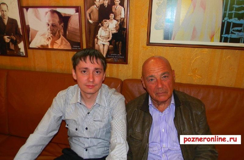 Ренат Хуснадинов и Владимир Познер