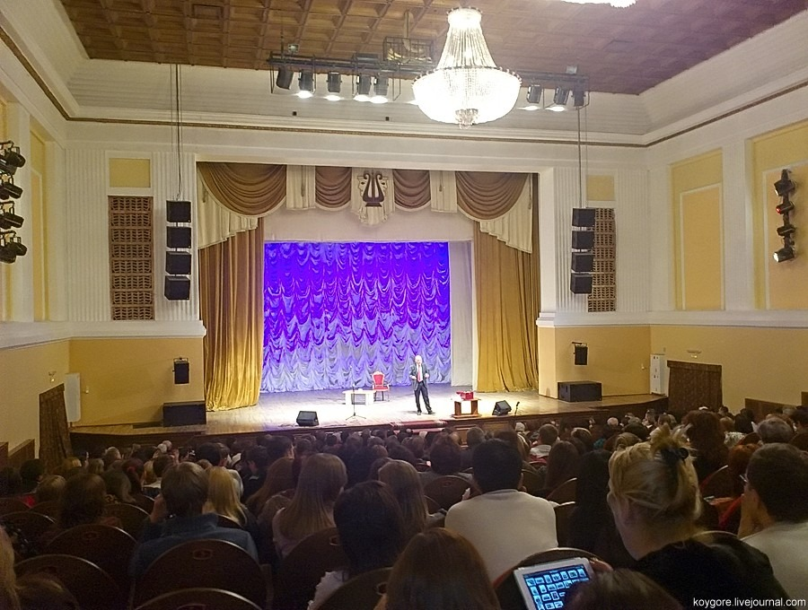 Творческий вечер Владимира Познера в Астрахани