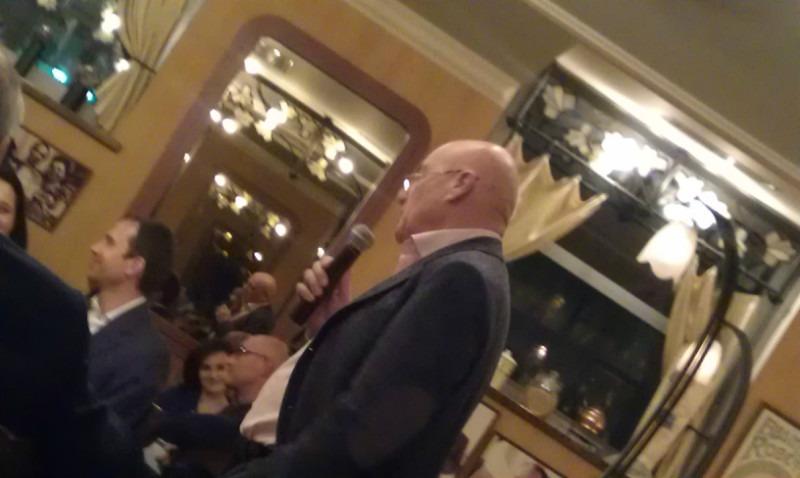 """Презентация сериала """"Их Италия"""" в ресторане """"Жеральдин"""" от В. Познера"""