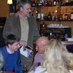 """Презентация в ресторане """"Жеральдин"""" книги """"Прощание с иллюзиями"""" В.В. Познера (фото, видео и аудио)"""