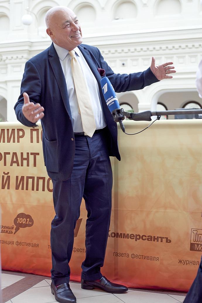 """Владимир Познер: """"Такой страны, как Италия, нет, есть нечто, похожее на сапог и названное Италией"""""""