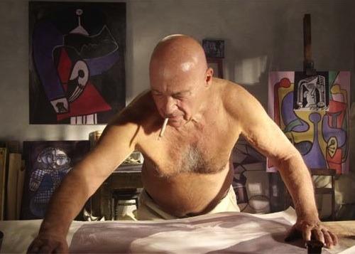 Познер в роли Пикассо
