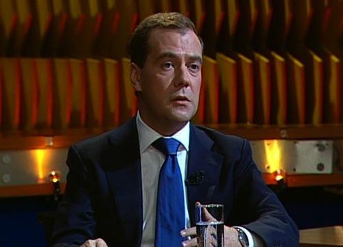 Дмитрий Медведев в программе