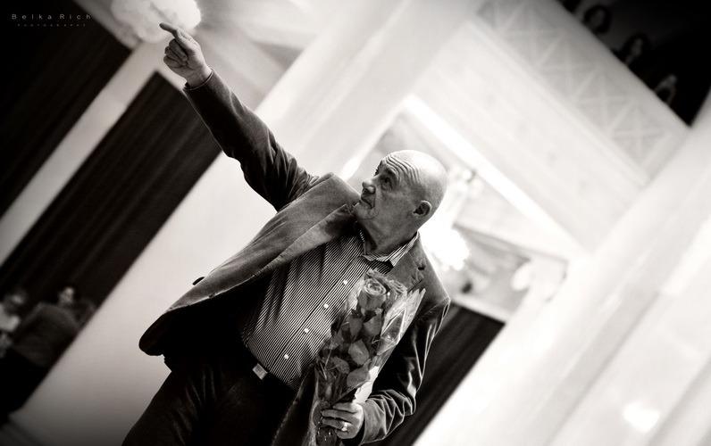 Фотоотчёт с творческого вечера Владимира Познера в Санкт-Петербурге