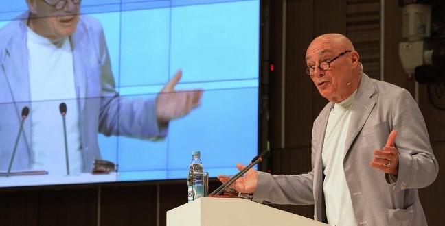 Открытая лекция Владимира Познера о журналистике