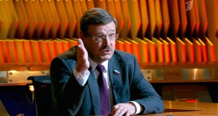 23 марта 2015 года в программе «Познер» — Константин Косачев