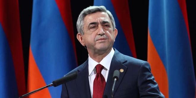 27 апреля 2015 года в программе «Познер» — Серж Саргсян