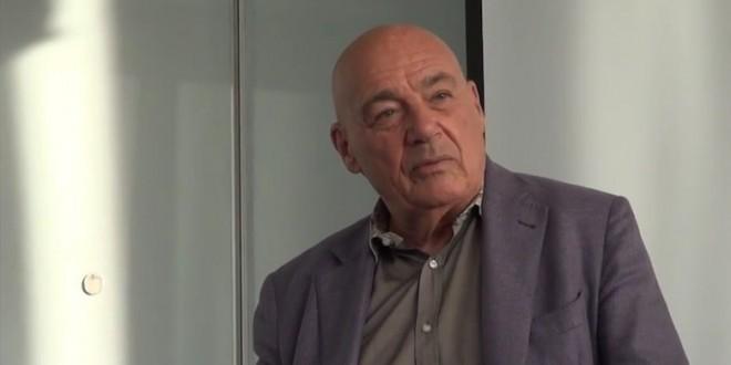 Vladimir Pozner meets with american delegates