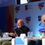 Владимир Познер на Московском культурном форуме