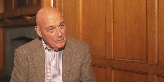 Vladimir Pozner at Glasgow University 2016 (Interview)