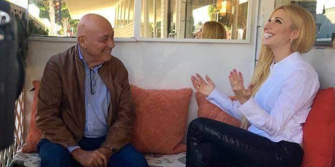Интервью с Владимиром Познером в Лос-Анджелесе