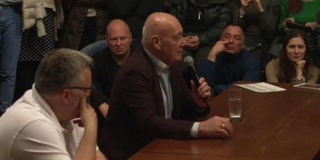 """Владимир Познер: """"Настоящее искусство — это памятник своего времени"""""""