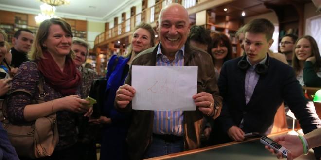 Владимир Познер прочтет «Тотальный диктант-2017»