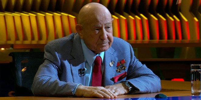 17 апреля 2017 года в программе «Познер» - Алексей Леонов