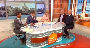 Vladimir Pozner and Michael Hayden on Good Morning Britain