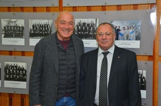 Владимир Познер и Михаил Будниченко