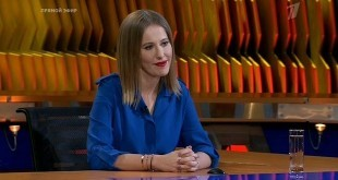 29 января 2018 года в программе «Познер» — Ксения Собчак