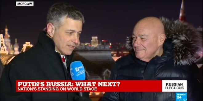Vladimir Pozner on Putin's next six years