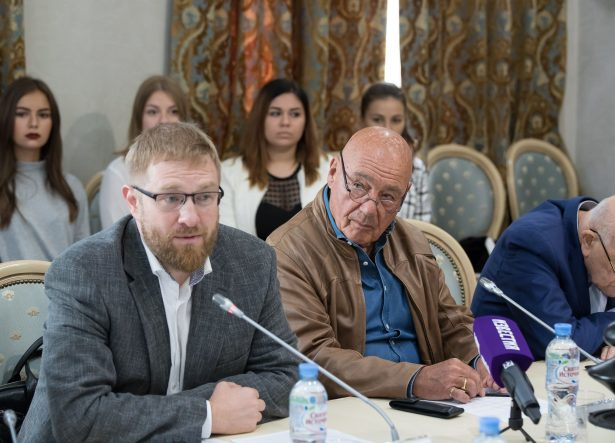 Александр Малькевич и Владимир Познер