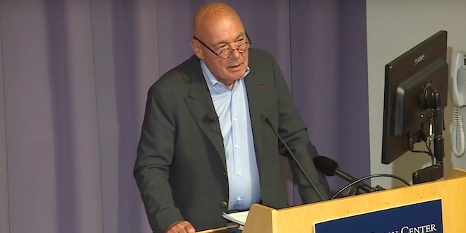 Vladimir Pozner spoke at Yale University (video)