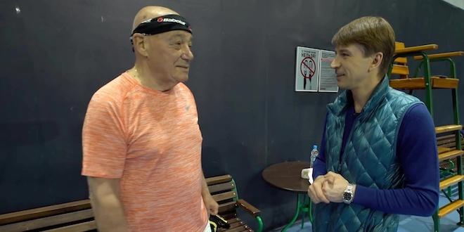 Герои спорта с Алексеем Ягудиным. Владимир Познер