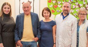 Владимир Познер посетил Детскую республиканскую клиническую больницу
